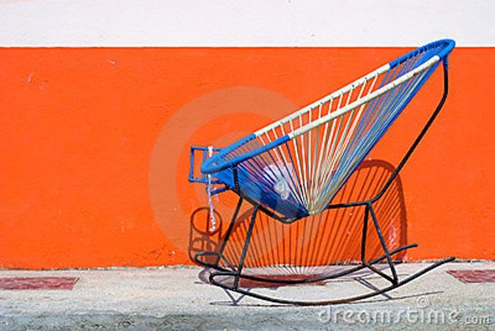 Tendance vintage mexicain avec le fauteuil Acapulco