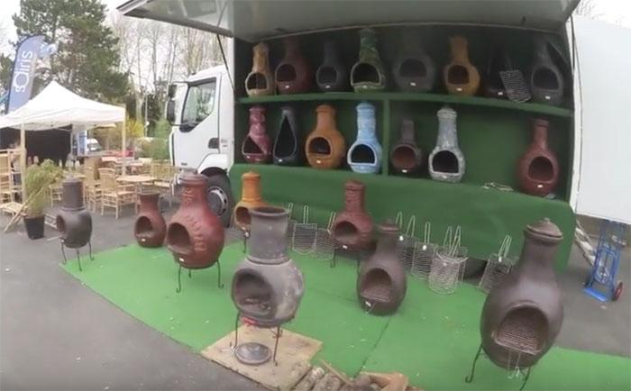 Braseros mexicains à Châteauroux